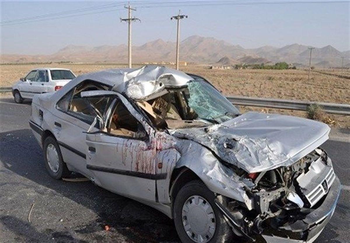 تصادف مرگبار در محور کرمانشاه + جزئیات