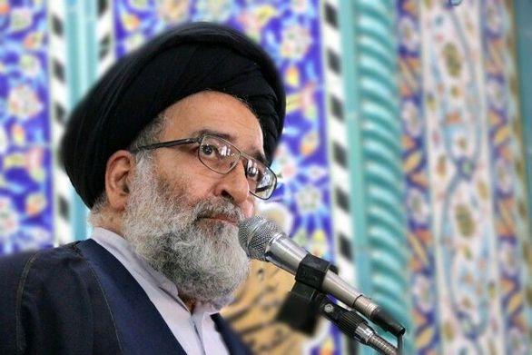 سخنرانی زینب سلیمانی و حسن روحانی در مراسم ۲۲ بهمن تهران