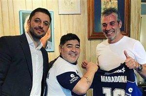 مارادونا به میادین بازگشت