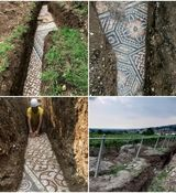کشف فرش باستانی سالم در زیر زمین! + عکس
