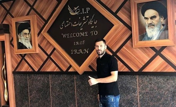 بمب کروات استقلال در تهران + عکس