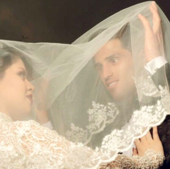 عکس های لو رفته از مراسم ازدواج علی علیپور و همسرش در تالار + بیوگرافی و تصاویر