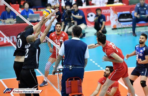 نتیجه بازی والیبال ایران و مصر