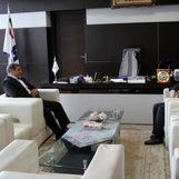 دیدار مدیر بیمه سرمد در استان خراسان جنوبی با مدیر شعب بانک صادرات این استان