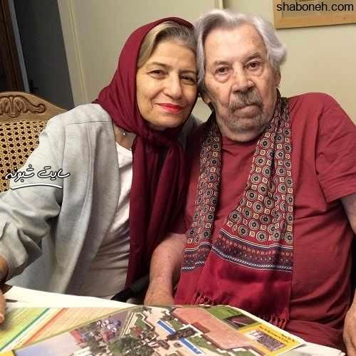 بیوگرافی احترام برومند (بازیگر) همسر داوود رشیدی +دختر و پسرش ...