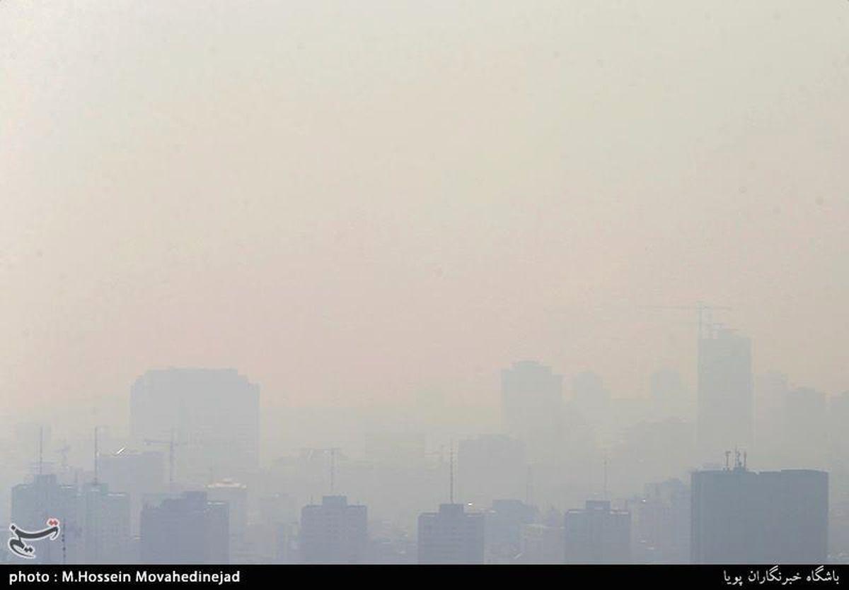 هشدار  هوای تهران برای همه گروه ها ناسالم است