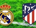 نتیجه بازی رئال مادرید و اتلتیکو مادرید + جزئیات و عکس