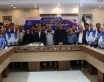 برگزاری مراسم تودیع و معارفه مدیر عامل شرکت فولاد امیر کبیر کاشان