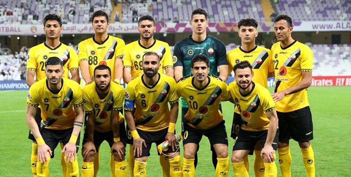 وضعیت تست کرونا باشگاه سپاهان