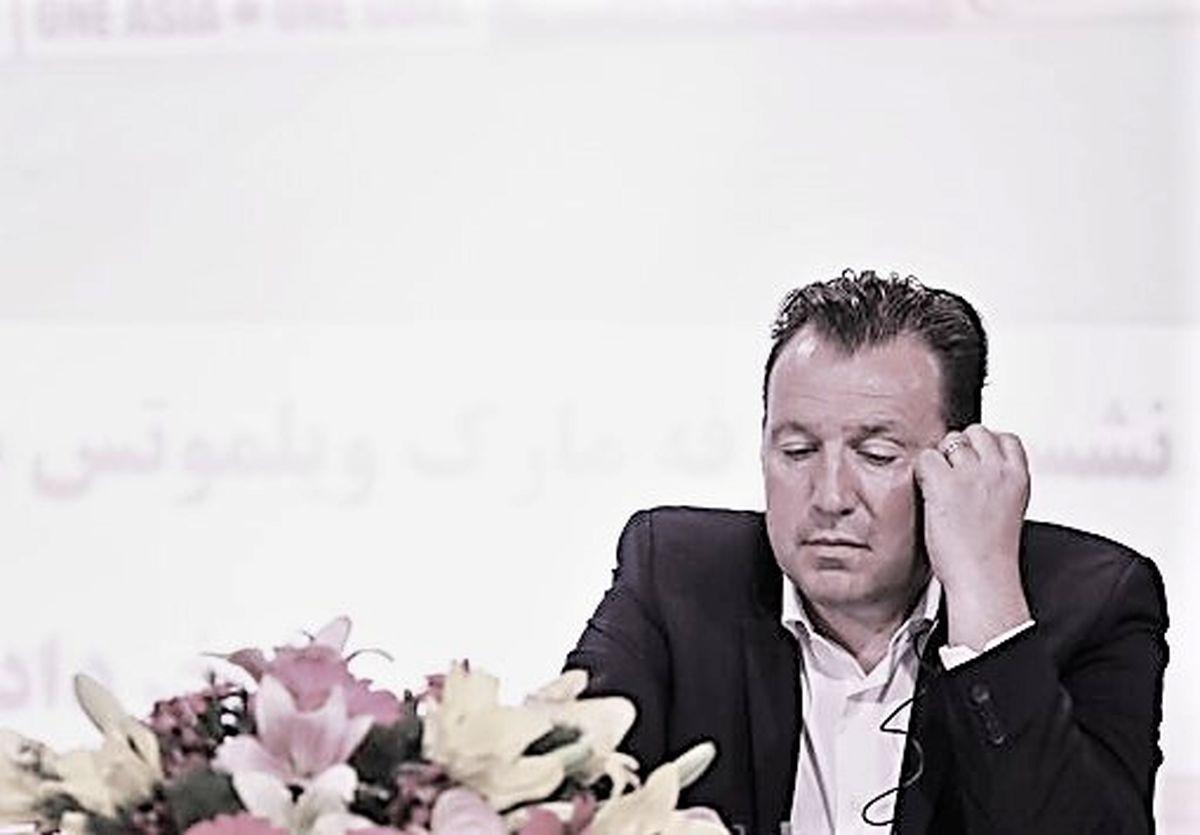 قرارداد ویلموتس با تیم ملی فوتبال ایران فسخ شد