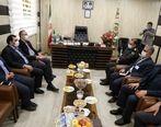 دیدار مدیرعامل و اعضای هیئت رئیسه شرکت عملیات غیرصنعتی با فرمانده انتظامی شهرستان بندرماهشهر+تصاویر