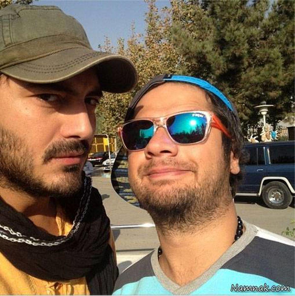 عکس جنجال برانگیز علی صادقی و خانم بازیگر لب دریا | بیوگرافی علی صادقی