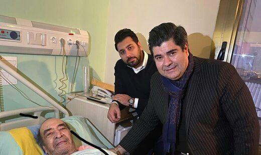 خواجه امیری در بیمارستان بستری شد + بیوگرافی و عکس