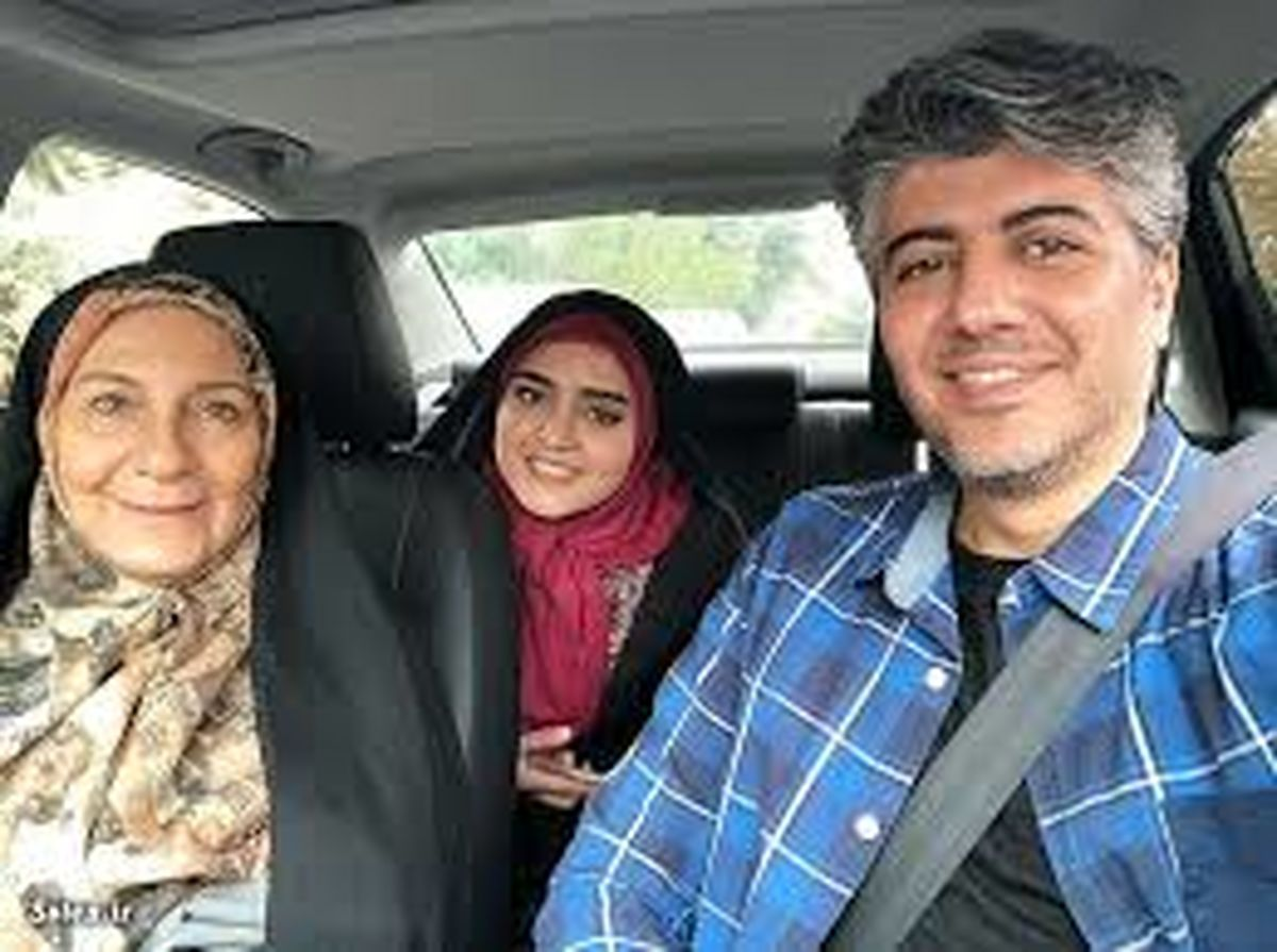 شهرام پوراسد و همسر و دخترش + بیوگرافی