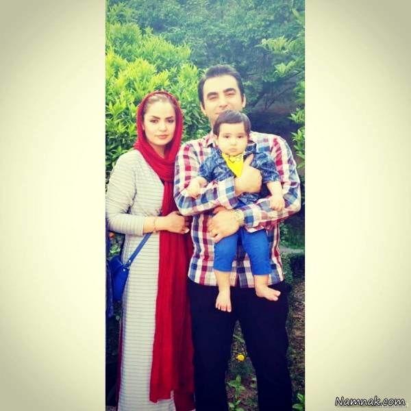سپیده خداوردی و همسر و پسرش