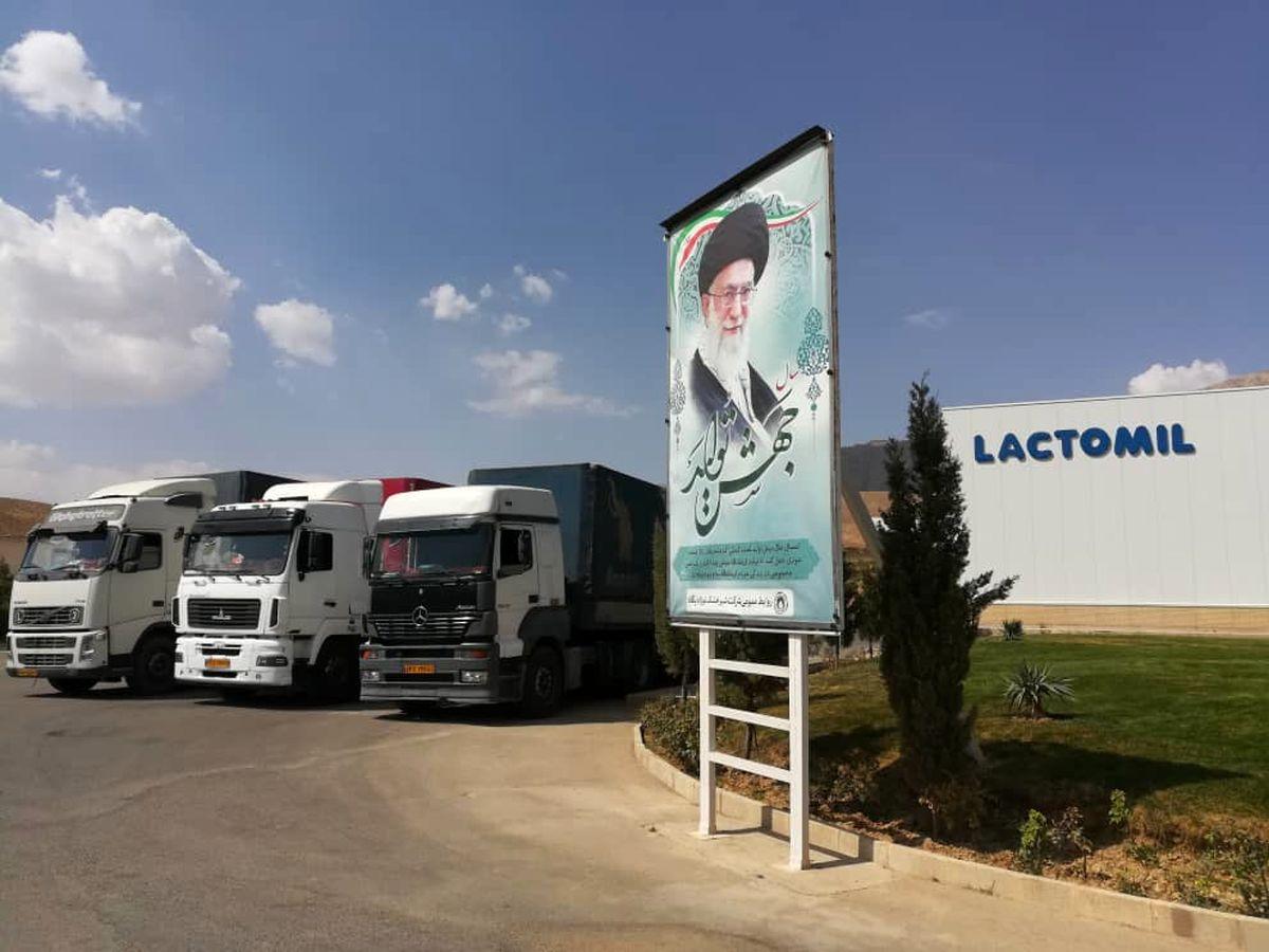 شیر خشک نوزاد پگاه به سوریه صادر شد