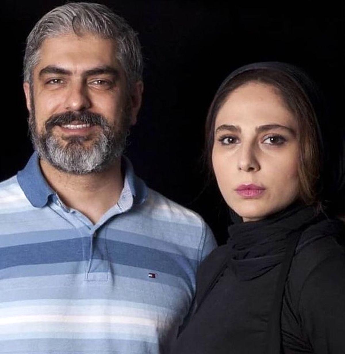 عکس دیده نشده از همسر دوم مهدی پاکدل در کنار پدرش + عکس