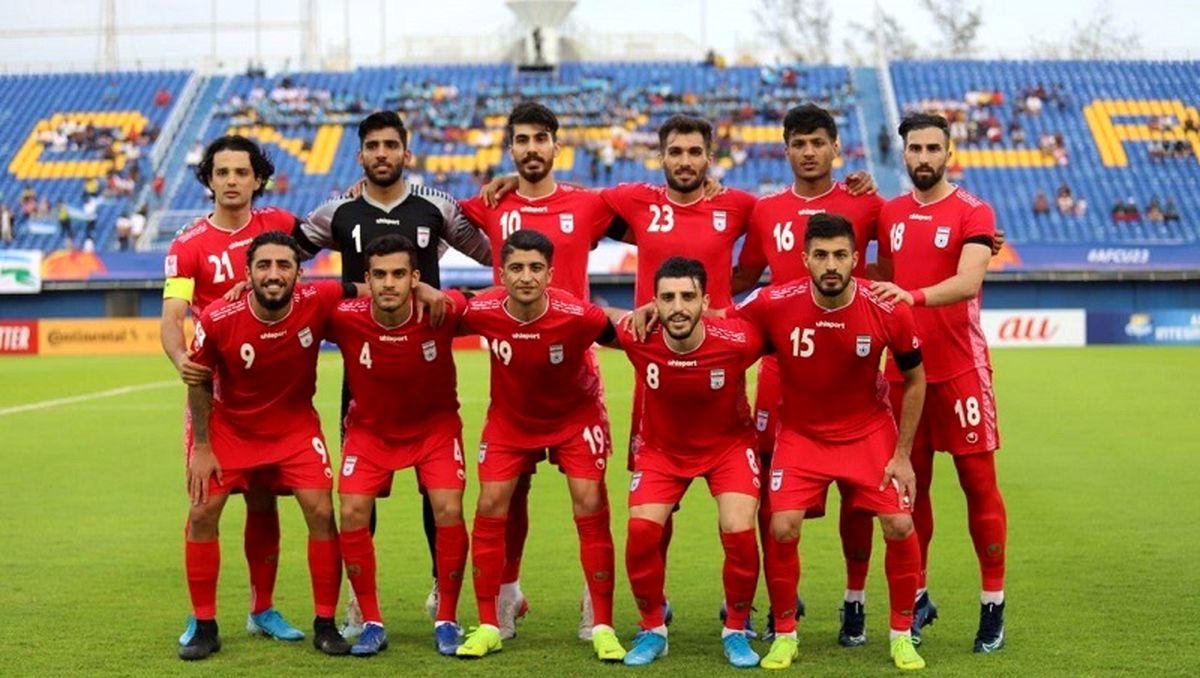 ترکیب تیم امید ایران برای دیدار با کره جنوبی اعلام شد