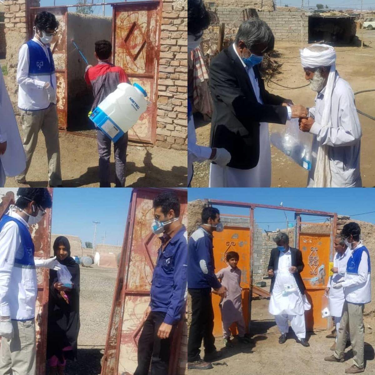 خدمات رسانی مجتمع اکتشافی و معدنی سیستان و بلوچستان در روستاهای محروم