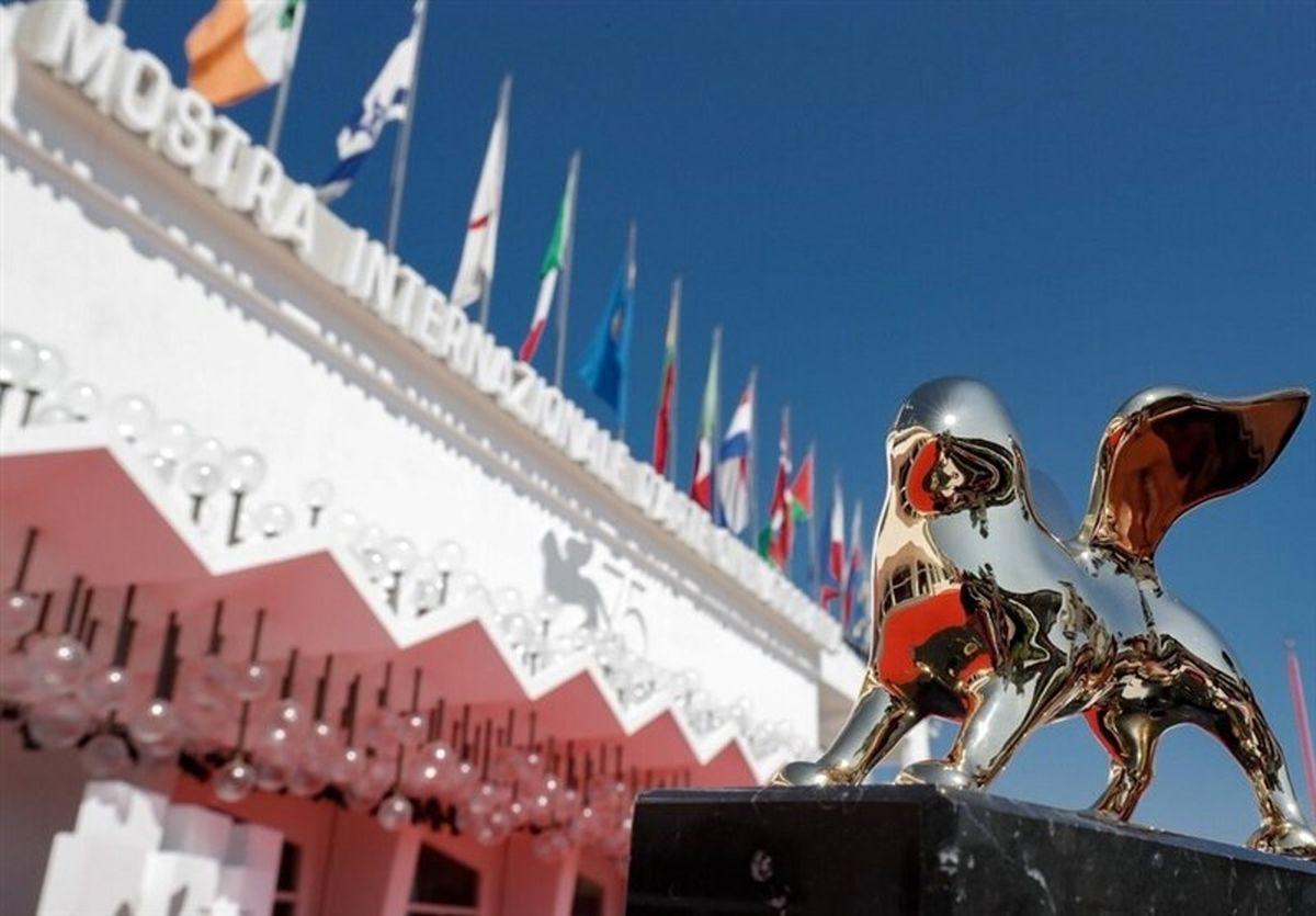 لباس مه لقا جابری و فرنوش حمیدیان در جشنواره ونیز2021 + عکس