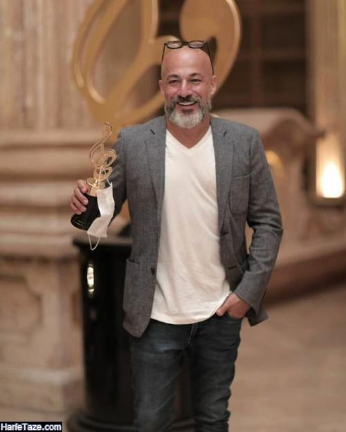 امیر آقایی برنده جایز جشنواره دنیای تصویر
