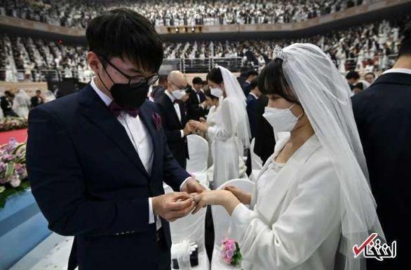 برگزاری عروسی دسته جمعی در هنگ کنگ+عکس