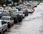 ترافیک سنگین دراتوبان امام علی (ع) + ویدئو