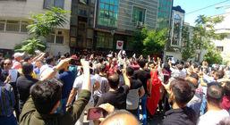 پلیس ضدشورش در استقلال و پرسپولیس چه می کنند + عکس