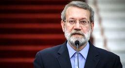 لاریجانی: پشت پردهای برای مذاکره ایران و آمریکا وجود ندارد
