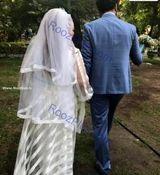 عکس لو رفته بهاره رهنما در لباس بدن نمای عروس + عکس