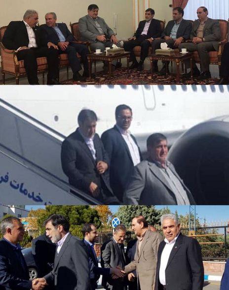 عزیمت سرپرست بیمه ایران به مناطق زلزله زده آذربایجان شرقی