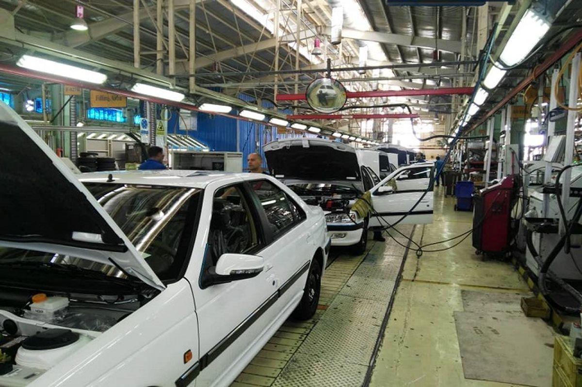 رشد 63 درصد تولید در ایران خودرو فارس
