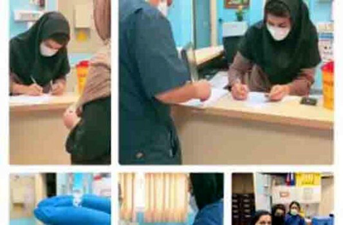 واکسیناسیون کرونای بیماران خاص در کیش