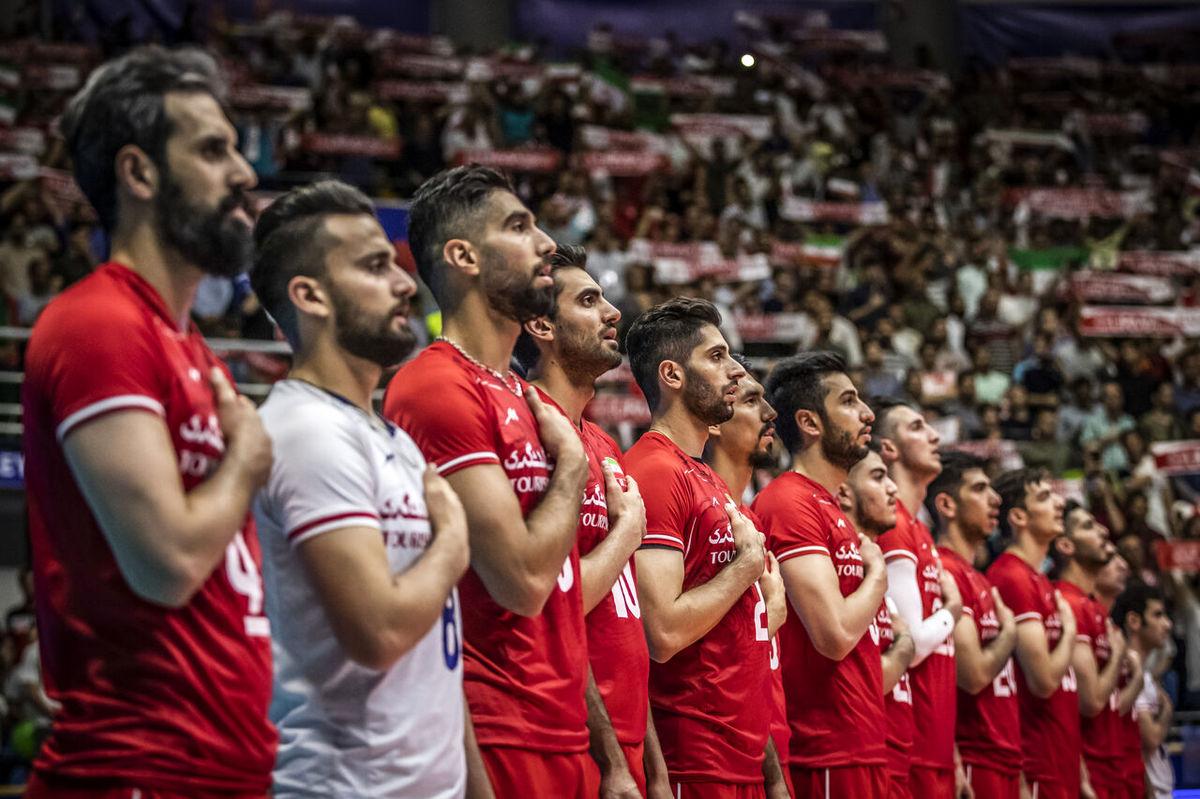 تیم ملی والیبال ایران در صدر آسیا قرار گرفت