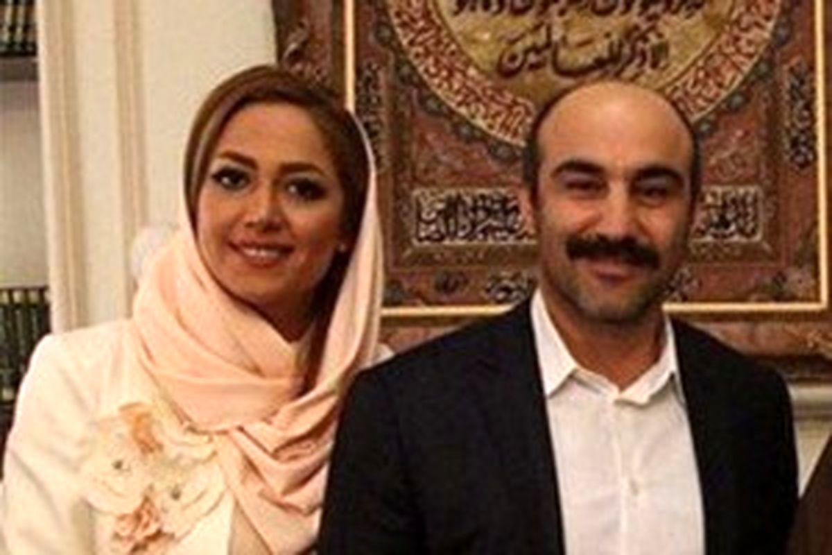 عکس های مراسم ازدواج محسن تنابنده و همسرش  روشنک گلپا +بیوگرافی و تصاویر