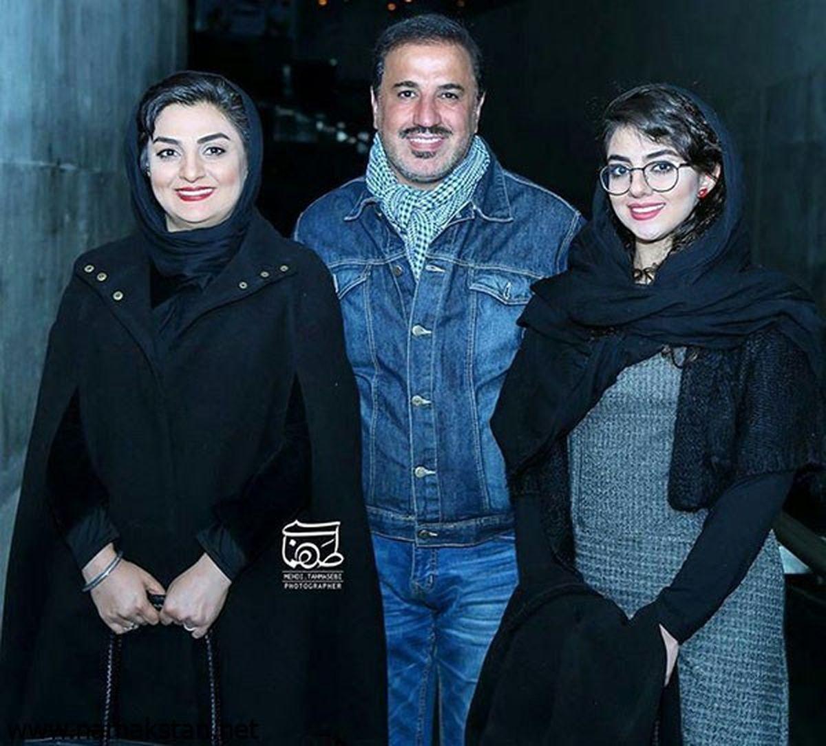 بیقراری همسر علی سلیمانی از فوت شوهرش + فیلم