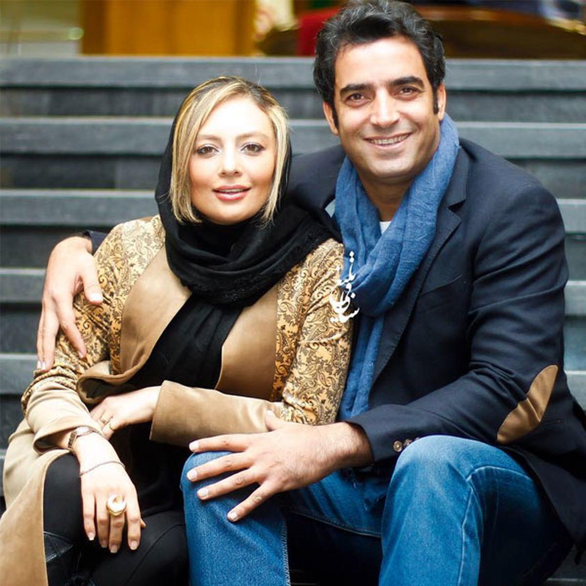 عکس لب ساحلی یکتا ناصر و عشقش   عکسهای یکتا ناصر و شوهرش
