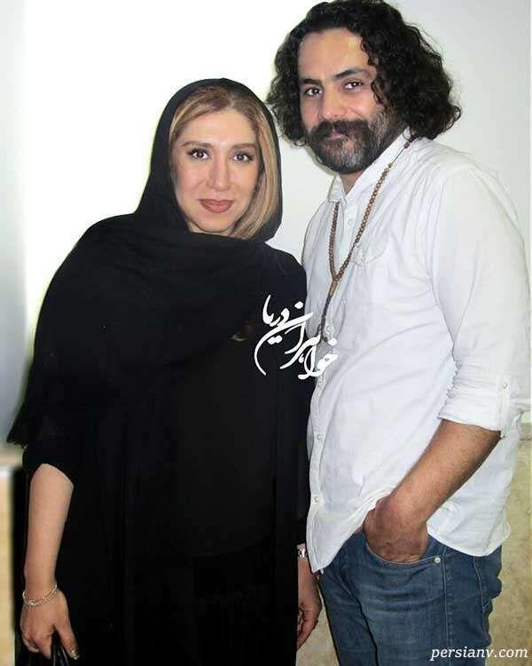مراسم خاکسپاری همسر نسیم ادبی با دف و ساز + فیلم