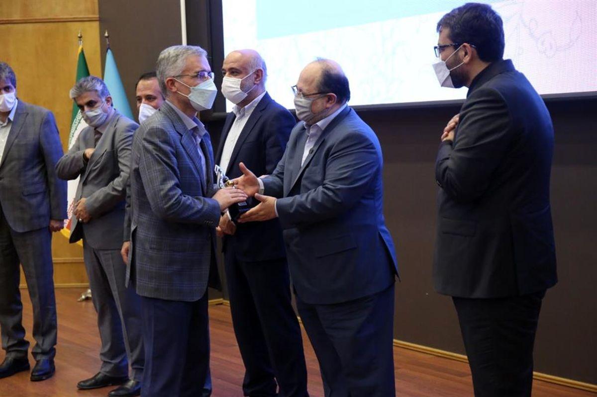 ذوب آهن اصفهان ، بنگاه اقتصادی ممتاز وزارت کار
