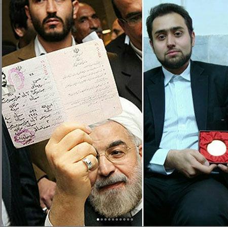 موضع داماد روحانی پس از ثبت نام در انتخابات  + فیلم