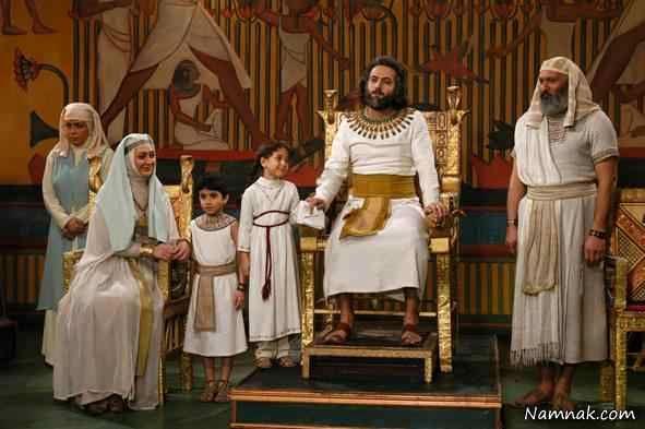 الهام حمیدی در سریال یوسف پیامبر
