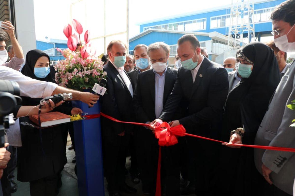 وزیر صمت کارخانه الکترو فرامهر نیشابور را افتتاح کرد