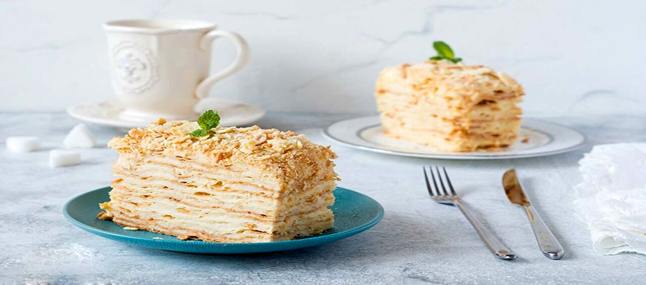 شیرینی ناپلئونی | طرز تهیه شیرینی ناپلئونی درخانه + مواد لازم