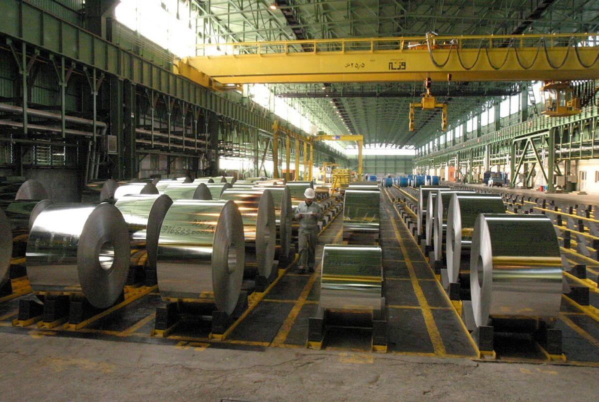رشد 7 درصدی تولید محصولات سیکل سرد فولاد مبارکه