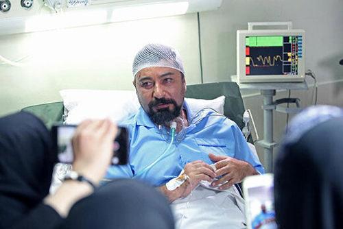 امیر حسین صدیق در بیمارستان بستری شد