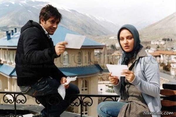 محمدرضا گلزار و مهناز افشار در فیلم کلاغ پر