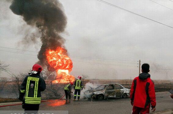 علت انفجار خطوط لوله گاز در اهواز مشخص شد +عکس