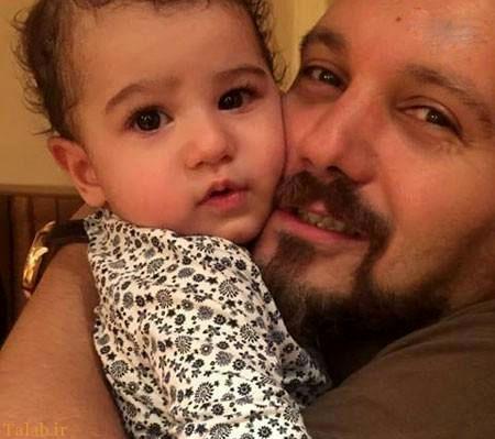 کامبیز دیرباز داستان عاشق شدنش را افشا کرد + عکس همسرش