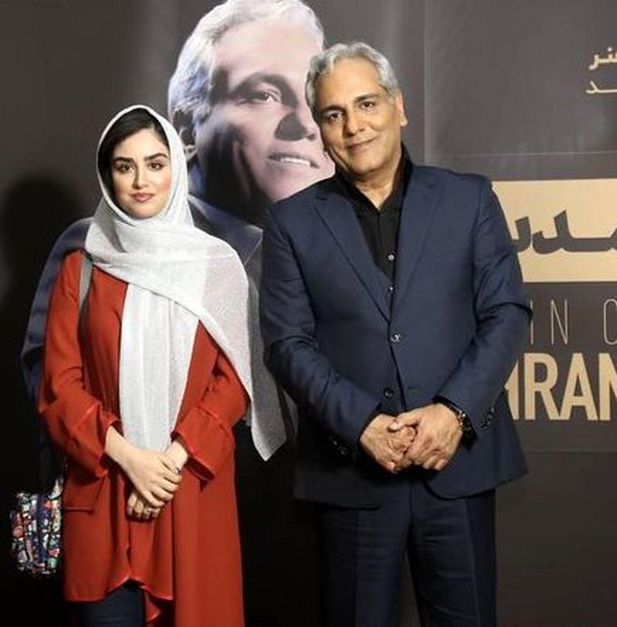 اختلاف سنی مهران مدیری و همسرش جنجالی شد + عکس همسر مهران مدیری