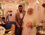 عروسی لاکچری بازیکن استقلال +عکس